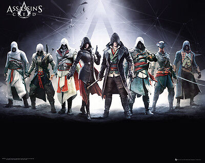 Poster ASSASSINS CREED SYNDICATE - Characters - Quer (Game)  50x40cm NEU z448