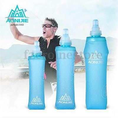 AONIJIE Foldable Folding Soft Flask Squeeze Outdoor Sports Running Water Bottle
