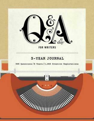 Q&A a Day for Writers: 1-Year Journal by Orfali Potter (English) Paperback Book