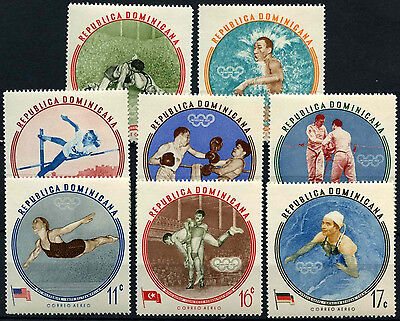 Dominican Republic 1960 SG#813-821 Olympic Games MH Set #D37611