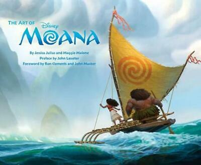 The Art of Moana by Jessica Julius Hardcover Book