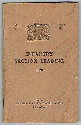 1938 Infantry Section Leading