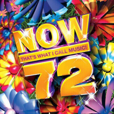 Various Artists : Now That's What I Call Music! 72 CD 2 discs (2009) Great Value