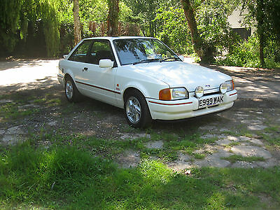 Ford Escort Xr3I 1 Owner From New 24000 Miles Stunning