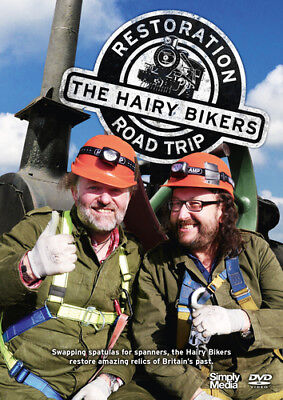 The Hairy Bikers' Restoration Road Trip DVD (2016) Si King cert E ***NEW***