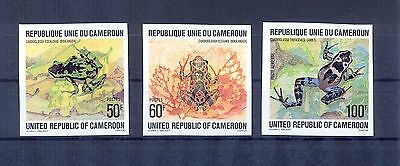 Cameroon 1978 Frogs imperforated. VF and Rare