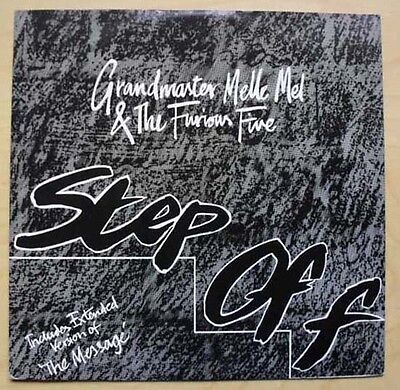 """Grandmaster Melle Mel Step Off 12"""" 1982 Includes Extended Version Of The Message"""