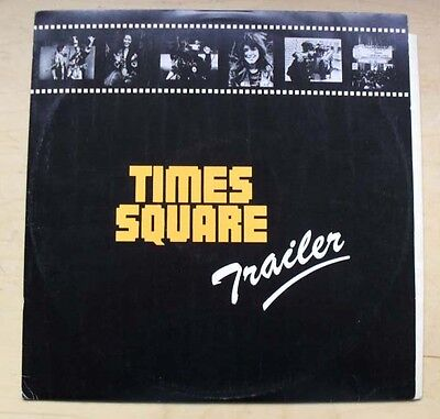 "Times Square Ost Trailer 12"" 1980 Promo Sampler For The Soundtrack Album (Ramone"