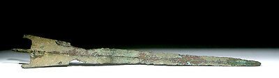 ARTEMIS GALLERY Beautiful Crescent-Shaped Luristan Bronze Sword