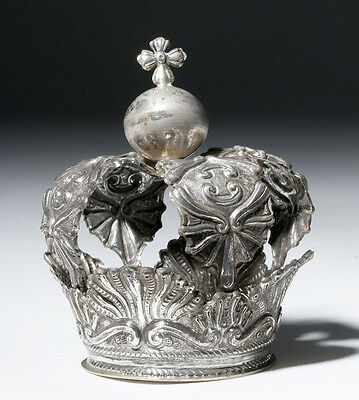ARTEMIS GALLERY Lovely Spanish Colonial Silver Crown - Bolivia