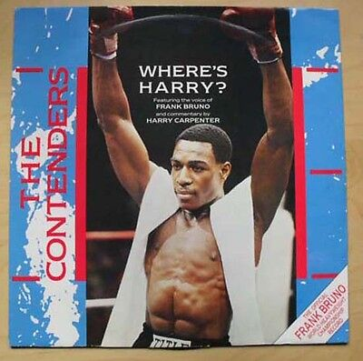 "Contenders Where's Harry? 12"" P/s - With Frank Bruno Uk"