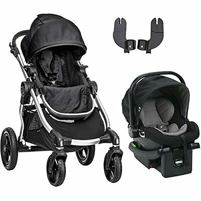 Baby Jogger City Select Travel System in Onyx with Stroller & City Go Car Seat!