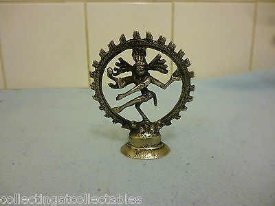 Beautiful Vintage Shiva as the Lord of Dance Figure Statue