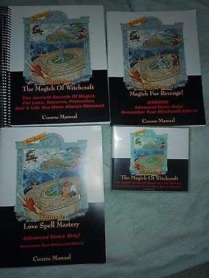 Rose Ariadne's The Magick Of Witchcraft. Books and DVDS. Wiccan. Advanced users