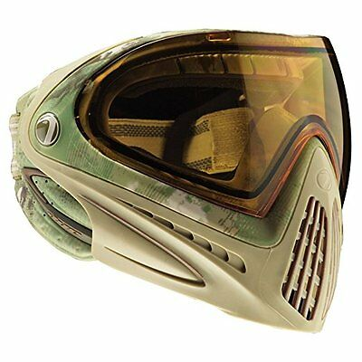 Dye Invision I4 Thermal Paintball Goggle Olive Camouflage NEW