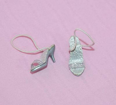 """Tonner 10"""" Tiny Kitty Grand Entrance Silver Shoes Fit Simone Rouge"""