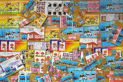 Mix Of On Paper Stamps And Souvenir Sheets From Hong Kong