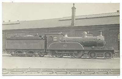 NORTH EASTERN RAILWAY - Steam Loco no.1631  F.Moore Real Photo Postcard