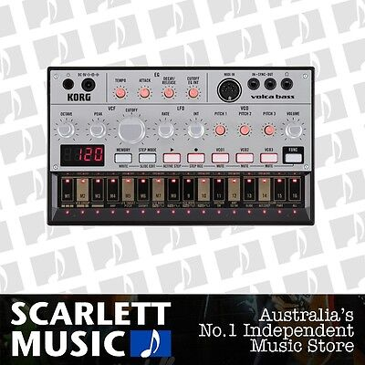 Korg Volca Bass Analogue Synth Module & Sequencer *BRAND NEW*