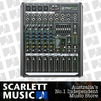 Mackie Pro FX8 V2 8 Channel Compact Mixer w' FX *BRAND NEW*