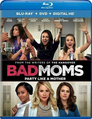 Bad Moms (Blu-ray + DVD + Digital HD) Blu-ray
