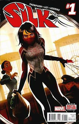 Silk #1 1st Print All New All Different Marvel 2015