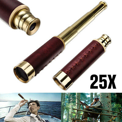 140X35mm Nautical Telescope Spyglass Maritime Pirate Captain Telescope Monocular