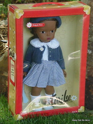 New Terri Lee * Ready For Recess * African American 15 Inch Doll