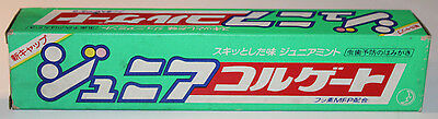 Colgate Junior Jr Dental Toothpaste Expired Japanese Film Movie Prop 95 gram