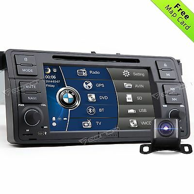 Camera+ for BMW E46 Car DVD Player GPS Navigation In-dash Stereo System BT SD L