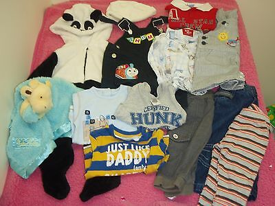 baby boys size 00 bulk clothes lot - gorgeous long sleeved tops and more