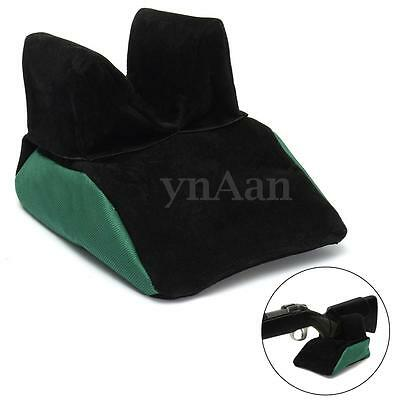 Portable Outdoor Hunting Unfilled Sand Bag Training Holder Rest Mount Rear Stand