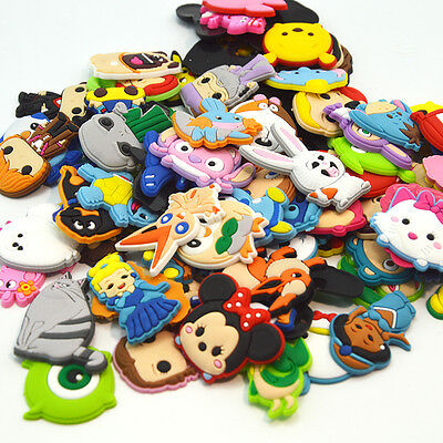 Different Random PVC Shoe Charms Accessories for Croc&Jibbitz Kid Christmas Gift