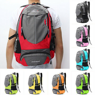 35L Deporte Viaje Mochila Impermeable Backpack Senderismo Hiking Laptop Bag
