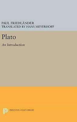 Plato.: An Introduction by Paul Friedlander (English) Hardcover Book Free Shippi