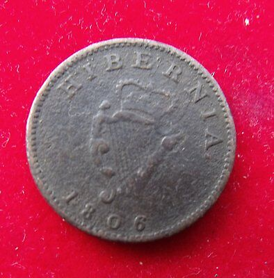 1806 Ireland George III Farthing  space filler