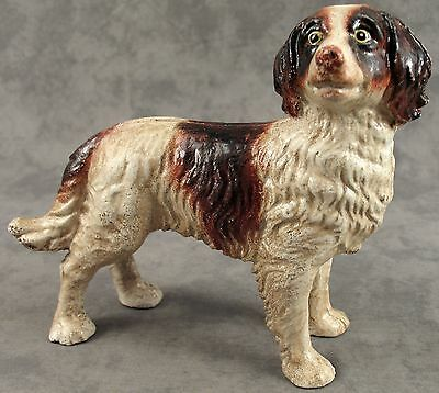 BRITTANY SPANIEL DOG Cast Iron HEAVY DOORSTOP STATUE