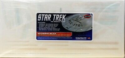 Weathering Decal für Star Trek USS Enterprise NCC-1701 1:350 Polar Lights MKA008