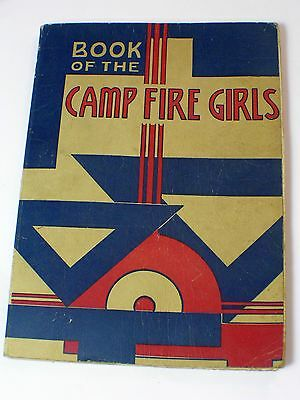 1953 Book of the Campfire Girls Book