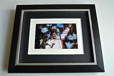Daley Thompson SIGNED 10x8 FRAMED Photo Autograph Display Olympic Decathlon COA