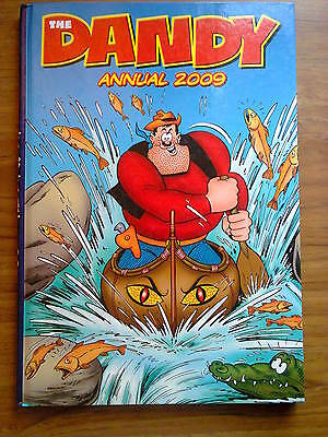 The Dandy Book, 2009, kids' annual. Unclipped