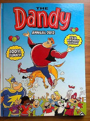 The Dandy Book, 2012, kids' annual. Unclipped