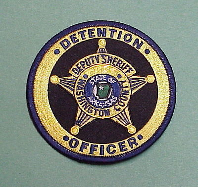 Washington County  Arkansas  Detention Officer  Police Patch   Free Shipping!!!