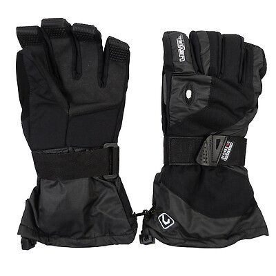 LEVEL CLICKER BLACK Herren Snowboardhandschuhe Gloves BIOMAX Protektor 5102UG.01
