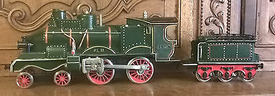 Reproduction De Locomotive Coupe Vent Marklin En 1 train