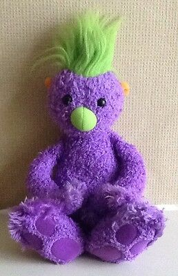Large Talking IVER THE PURPLE HOOB from THE HOOBS soft toy figure