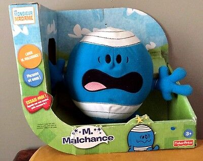 Peluche Monsieur Madame Mr Malchance 25 Cm Parlant Fisher Price