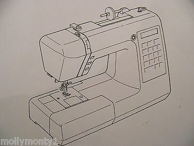 Janome XC 33 Sewing Machine Instruction Manual 46 Pages in PDF & Sent via Email