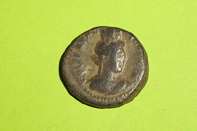 Ancient ROMAN BIBLICAL COIN city goddess HERENNIA ETRUSCILLA bible antique