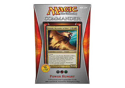 Sealed Commander 2013 Power Hungry MTG Commander  NEW -Kid Icarus-